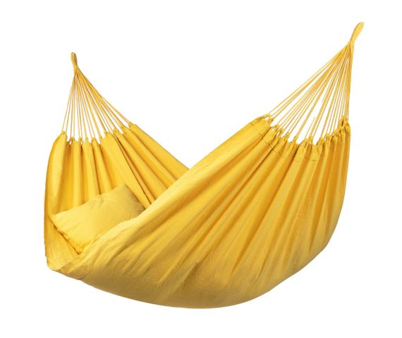 Yhden Hengen Riippumatto 'Plain' Yellow