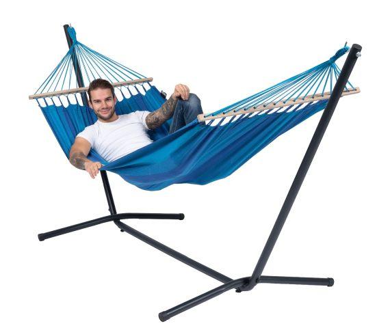 RiippumattoYhdellä Jalustalla 'Easy & Relax' Blue